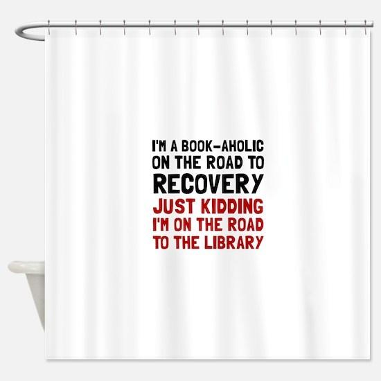Bookaholic Shower Curtain