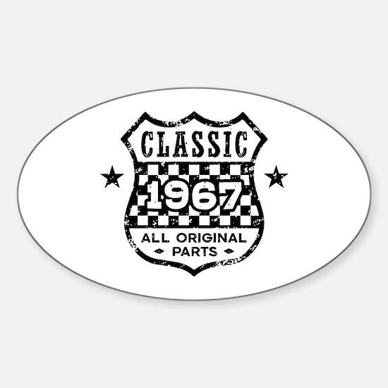 Classic 1967 Sticker (Oval)