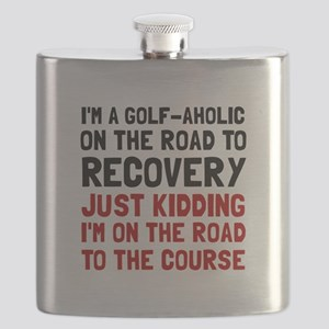 Golfaholic Flask