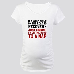 Sleepaholic Maternity T-Shirt