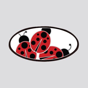 Trio of Ladybugs Patches