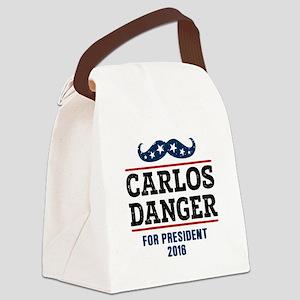 Carlos Danger For President 2016 Canvas Lunch Bag