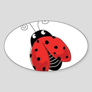 Red Ladybug-5 Sticker