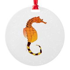 Big belly Seahorse Ornament