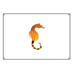Big belly Seahorse Banner