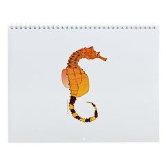 Ree Fish And Seahorses Wall Calendar