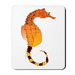 Big belly Seahorse Mousepad