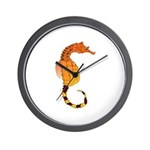Big belly Seahorse Wall Clock