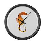 Big belly Seahorse Large Wall Clock