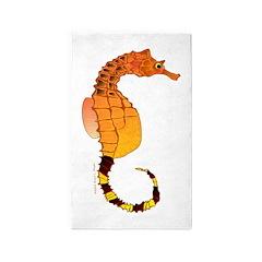 Big belly Seahorse 3'x5' Area Rug