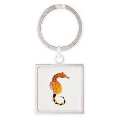 Big belly Seahorse Keychains