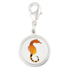 Big belly Seahorse Charms