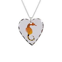 Big belly Seahorse Necklace
