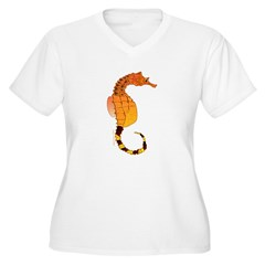 Big belly Seahorse c Plus Size T-Shirt