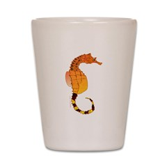 Big belly Seahorse c Shot Glass