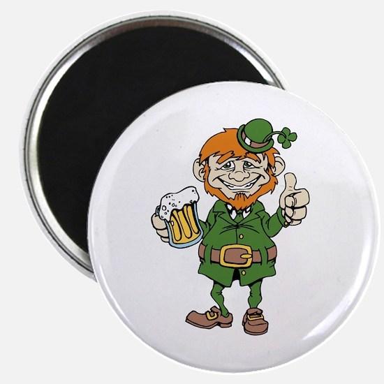 St Patricks Day leprechaun Magnets
