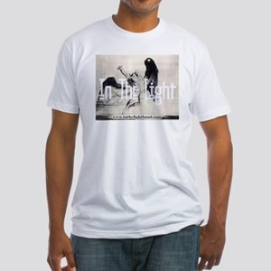 In The Light   Fitted T-Shirt