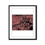 At dusk Framed Panel Print