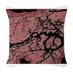 At dusk Woven Throw Pillow