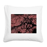At dusk Square Canvas Pillow