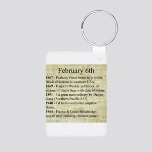 February 6th Keychains