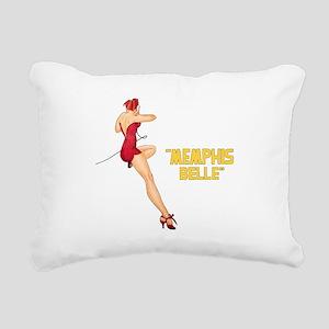 Memphis Belle Rectangular Canvas Pillow