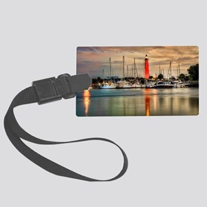 Ponce Inlet Lighthouse in FL Large Luggage Tag