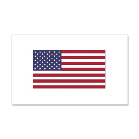 Flag of the United States Car Magnet 20 x 12