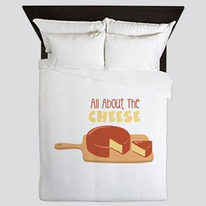 All About The Cheese Queen Duvet
