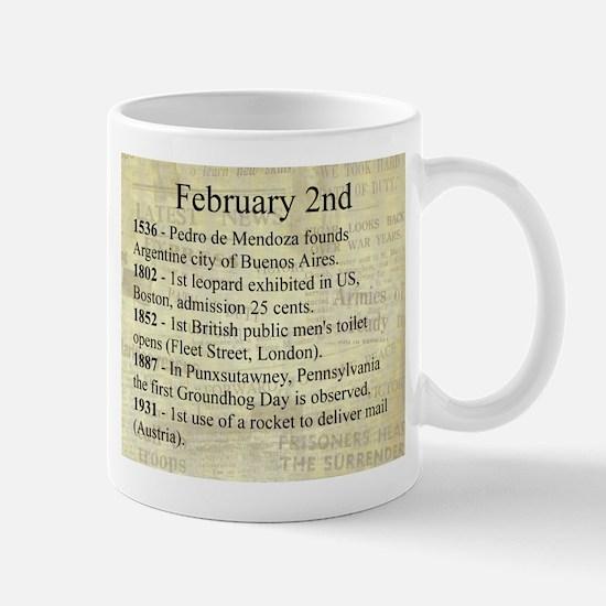 February 2nd Mugs