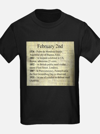 February 2nd T-Shirt
