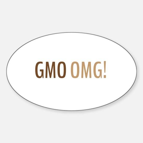 GMO OMG! Decal