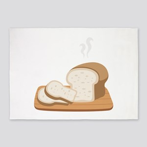 Loaf Bread 5'x7'Area Rug