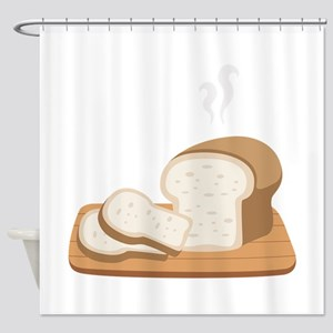 Loaf Bread Shower Curtain