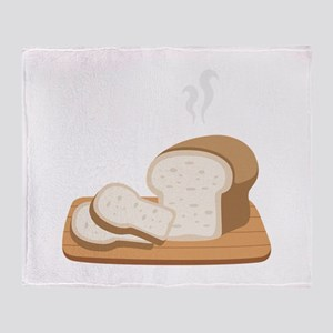 Loaf Bread Throw Blanket