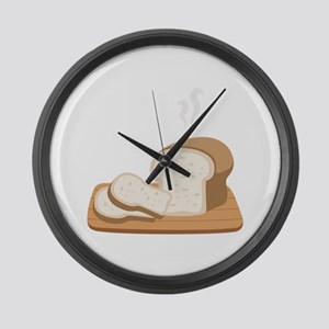 Loaf Bread Large Wall Clock