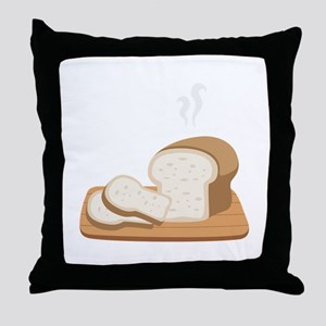 Loaf Bread Throw Pillow