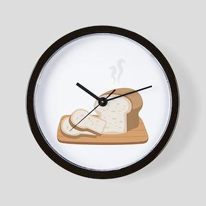 Loaf Bread Wall Clock