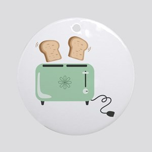 Electric Toaster Ornament (Round)