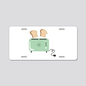 Electric Toaster Aluminum License Plate