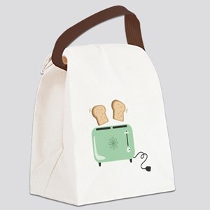 Electric Toaster Canvas Lunch Bag