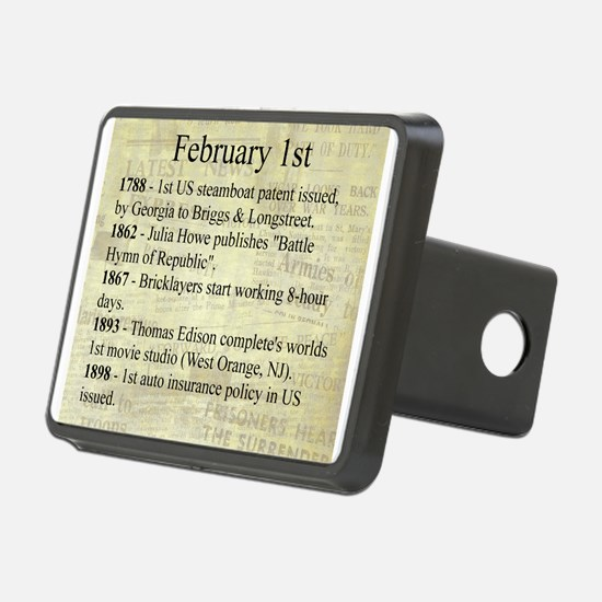 February 1st Hitch Cover