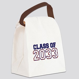 Class of 2033 Canvas Lunch Bag