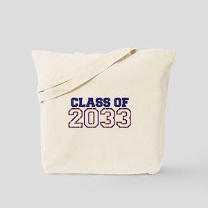 Class of 2033 Tote Bag
