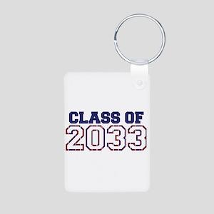 Class of 2033 Aluminum Photo Keychain