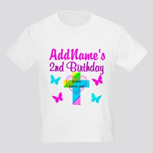 PRECIOUS 2 YR OLD Kids Light T-Shirt