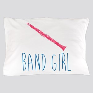 Band Girl Clarinet Pillow Case
