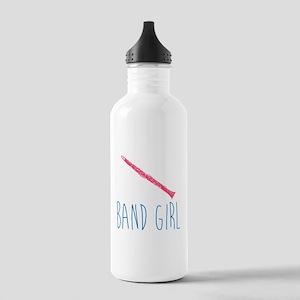 Band Girl Clarinet Water Bottle