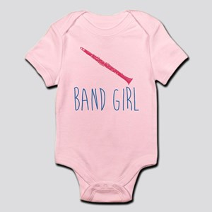 Band Girl Clarinet Body Suit Infant Bodysuit