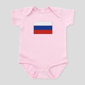 Flag of Russia Infant Bodysuit
